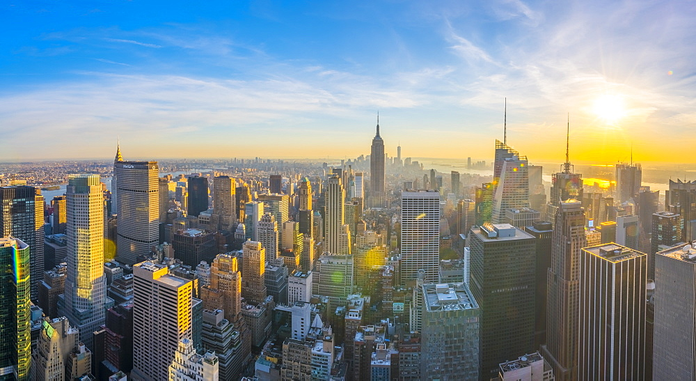 Empire State Building, Midtown, Manhattan, New York, United States of America, North America