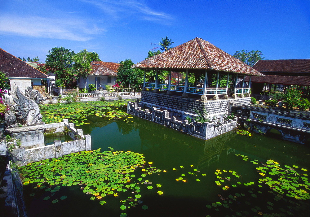 Ornamental Lake, Raja of Karangasem Palace, Amlapura, Bali, Indonesia