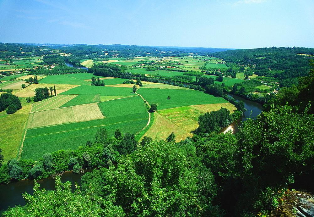 Rural Landscape, Domme, Dordogne, France