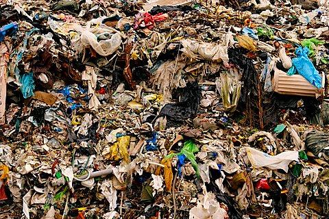 Garbage depot