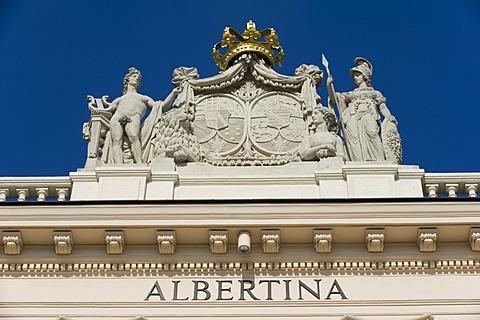 Albertina museum, Vienna, Austria, Europe