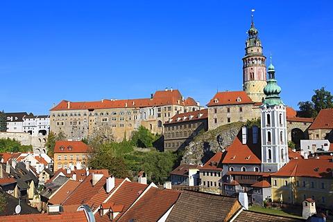&esk√Ω Krumlov Castle, Cesky Krumlov, Czech Republic, Europe