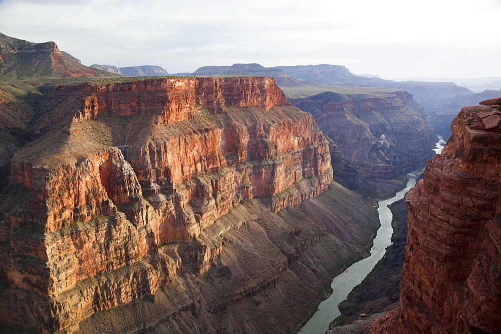 Grand Canyon and Colorado River seen from Toroweap Point, Tuweep Area, North Rim, Arizona, USA