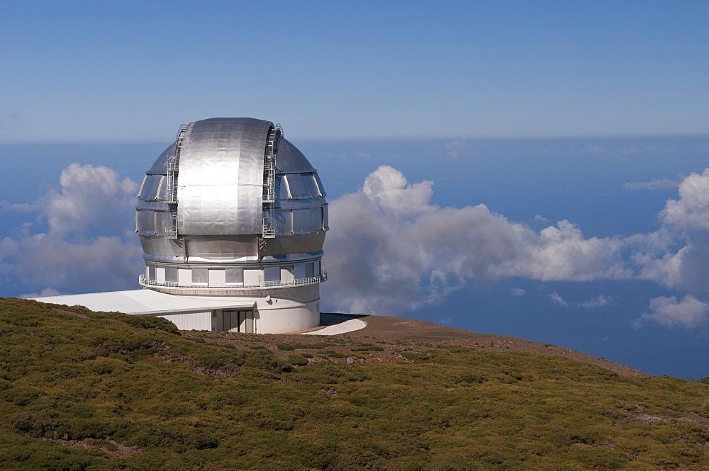 Observatory on th Roque de los Muchachos, La Palma, Canary Islands, Spain, Europe