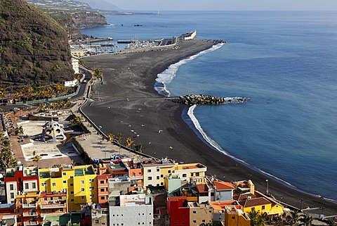 Puerto de Tazacorte, La Palma, Canary Islands, Spain, Europe - 832-376304