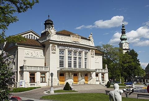 Art Nouveau style theatre, Klagenfurt, Carinthia, Austria, Europe