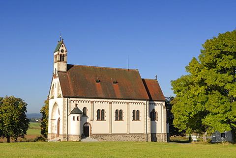 Loeffingen - the pilgrimage church schneekreuz/witterschnee - Baden Wuerttemberg, Germany, Europe.
