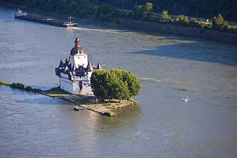 Burg Pfalzgrafenstein Castle in Kaub am Rhein, Rhineland-Palatinate, Germany, Europe