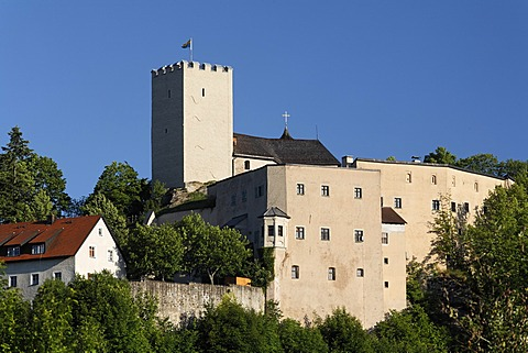 Falkenstein castle , Bavarian Forest , Upper Palatinate Bavaria Germany
