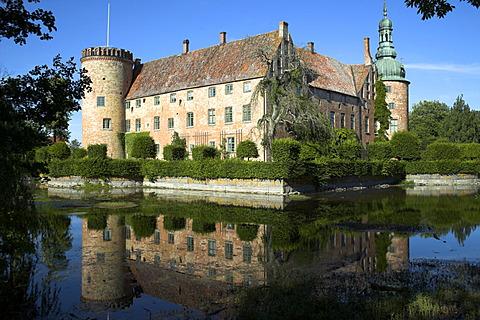Vidtskoeffle slot, Skane , Sweden, Europe