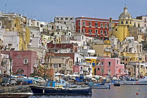 Procida Island, region Campania, Province Naples, Italy