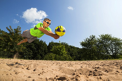 Beach volleyball player, 44 years, Schorndorf, Baden-Württemberg, Germany