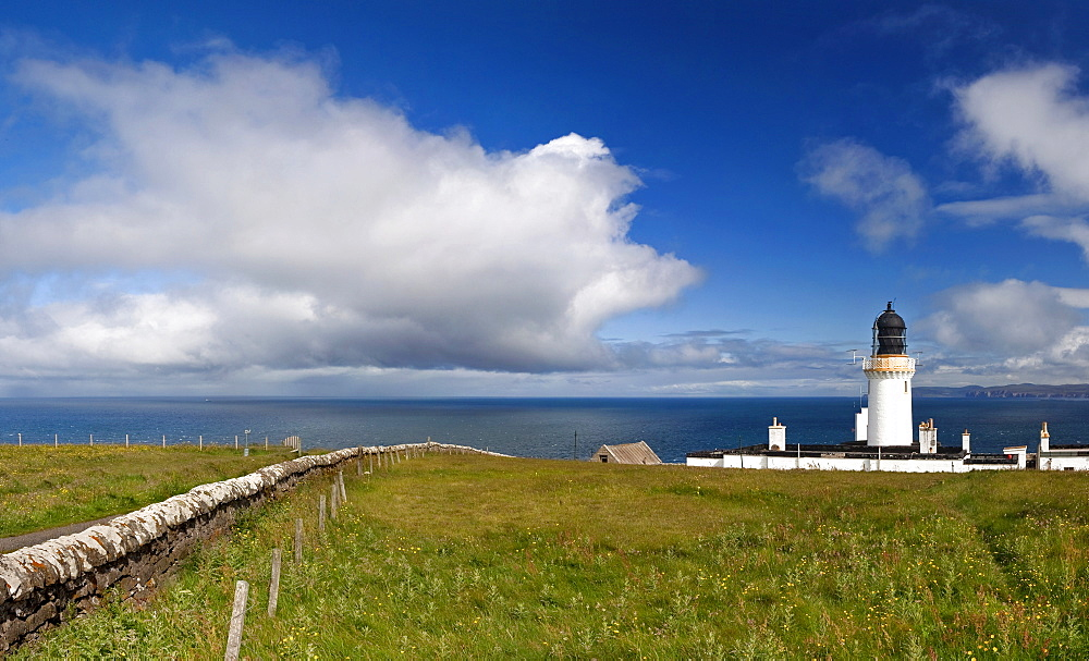 Lighthouse, Dunnet Head, Scotland, UK, Europe