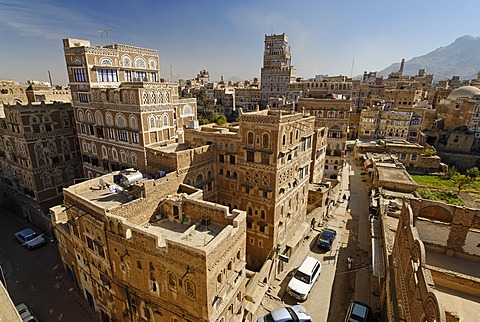 Historic old town of Sanaa, Sana´a, Unesco World Heritage Site, Yemen