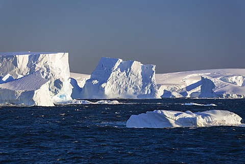 Icebergs off the Antarctic Peninsula, Southern Ocean, Antarctica