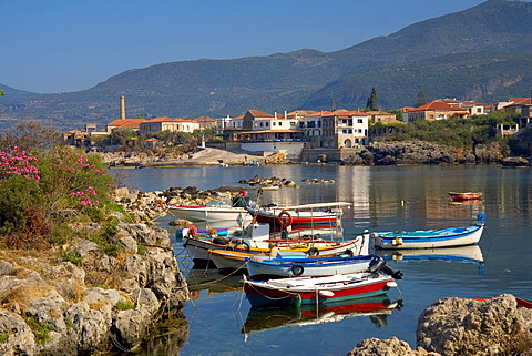 Harbour of Kardamyli, Peloponnese, Greece