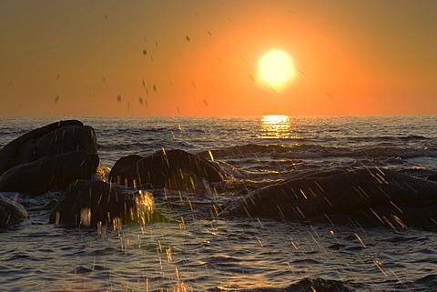 Sunrise at Costa Rei, Sardinia, Italy