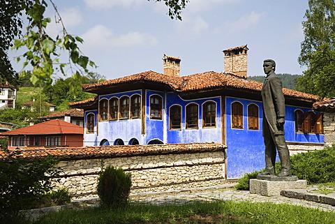 Blue house, museum town Koprivstiza, Bulgaria