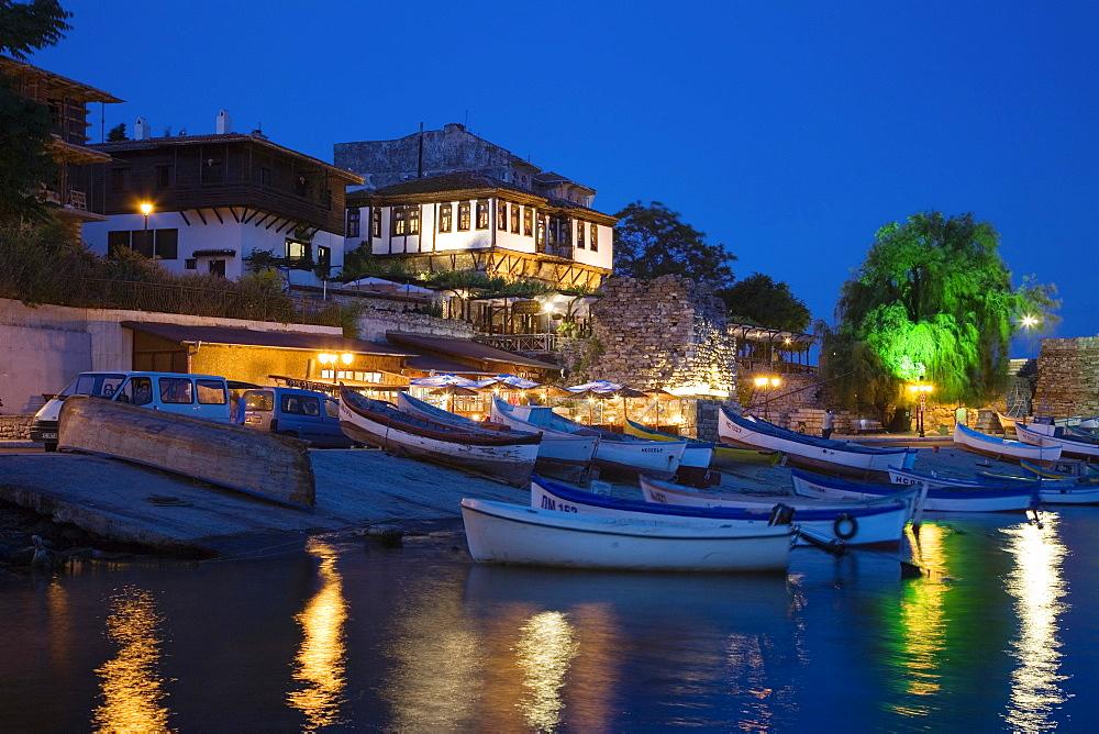 Southern harbour, Town museum Nesebar, Black Sea, Bulgaria
