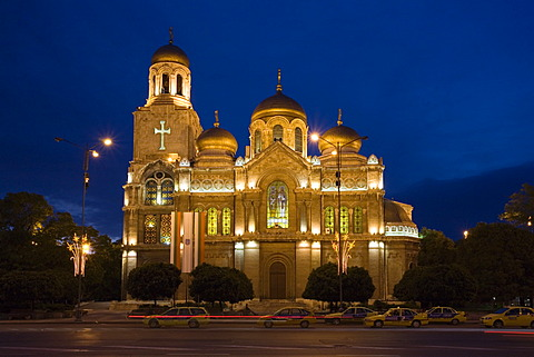 Cathedral of the Assumption in Varna, Bulgaria, Europe
