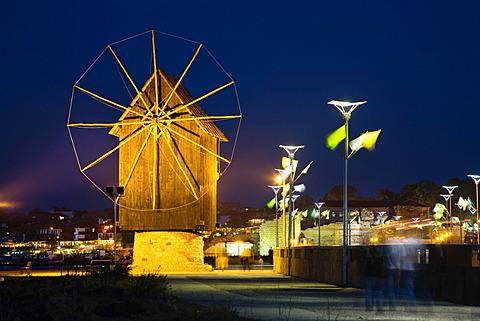 Windmill of Nesebar, Black Sea, Bulgaria