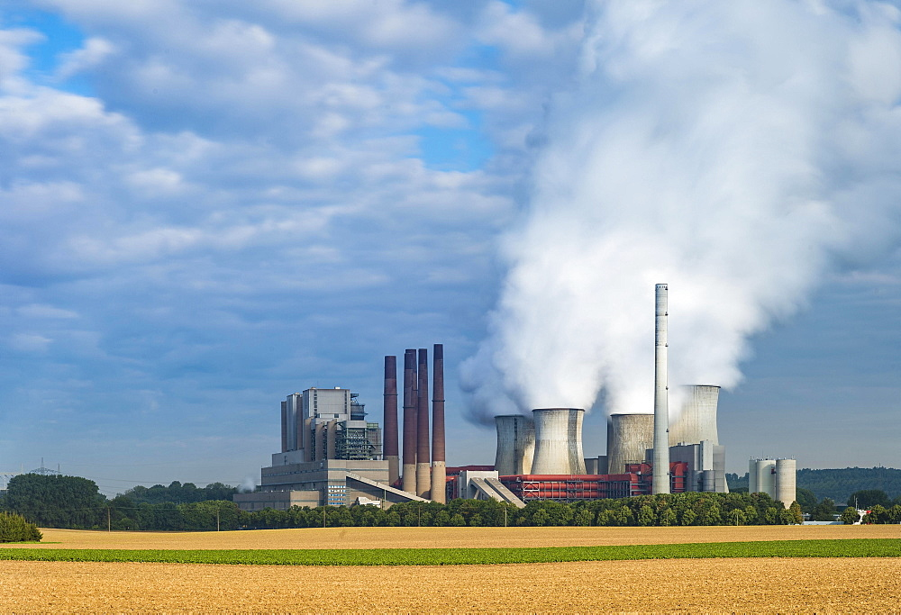 Neurath coal-fired power station I. Grevenbroich, North Rhine-Westphalia, Germany, Europe