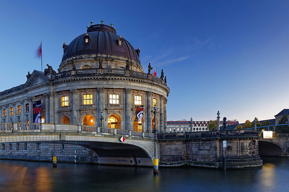 Bode Museum on the Spreeufer, Museumsinsel, Berlin, Germany, Europe