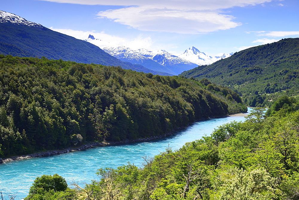 Rio Baker, near Puerto Bertrand, Región de Aysén, Chile, South America