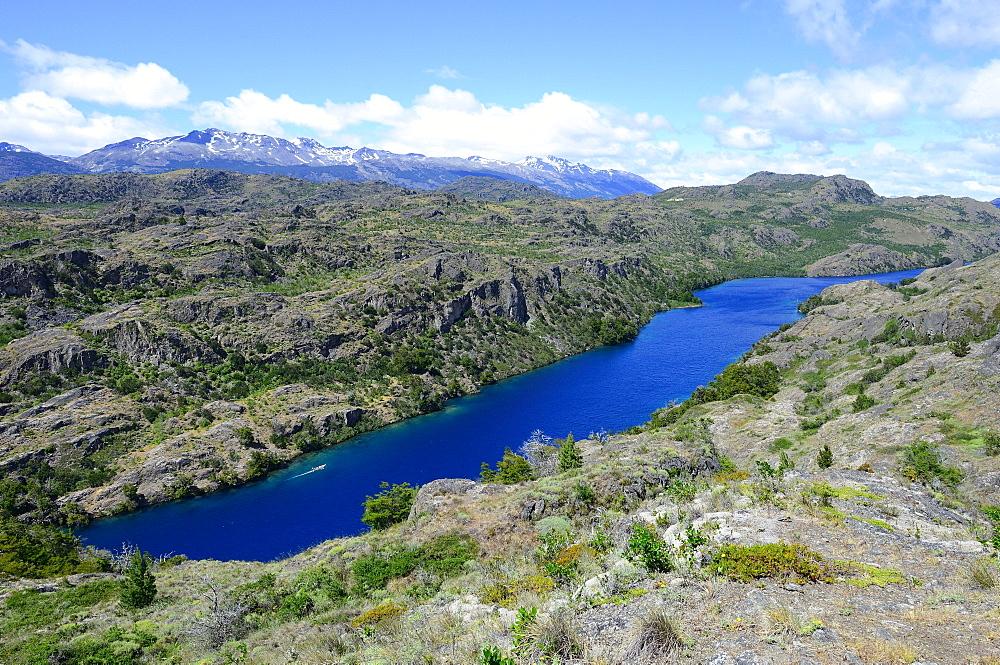 Lago Cochrane, LReserva Nacional Lago Cochrane o Tamango, Cochrane, Aysén Region, Chile, South America