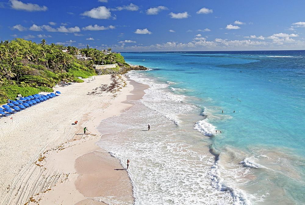 Crane Beach, beach at the Atlantic Ocean, Barbados, Lesser Antilles, Caribbean, West Indies, Central America