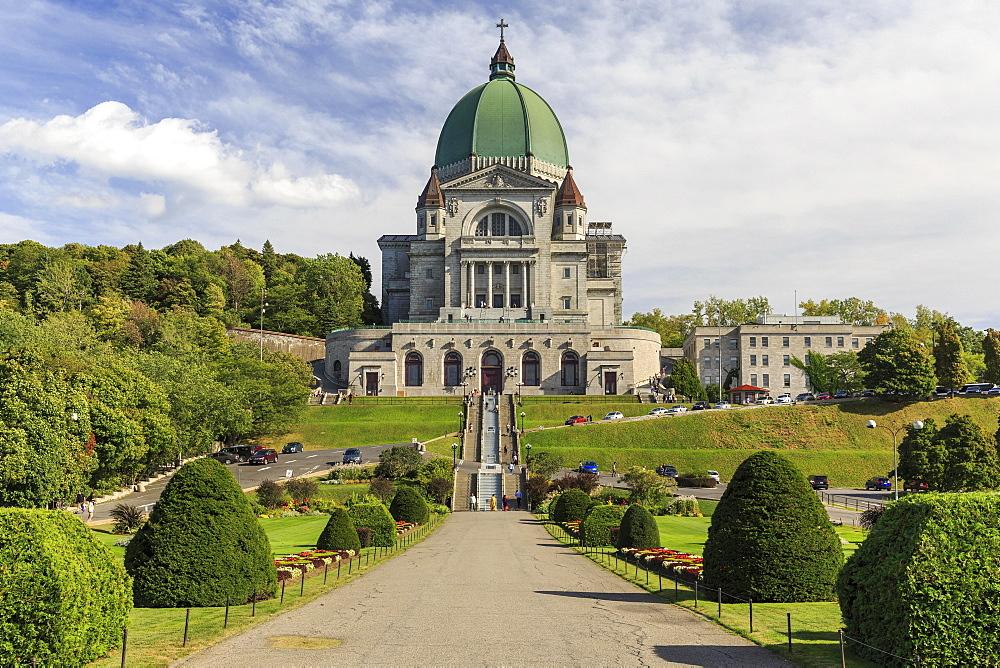 Basilica of St. Joseph's oratorio, Oratoire of St. Joseph, Montreal, Quebec, Canada, North America