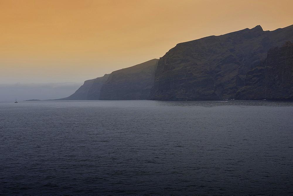 Acantilado de los Gigantes, Cliffs of the Giants, Los Gigantes, Tenerife, Canary Islands, Spain, Europe