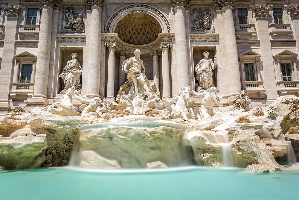 Trevi Fountain, Fontana di Trevi, landmark, Rome, Lazio, Italy, Europe