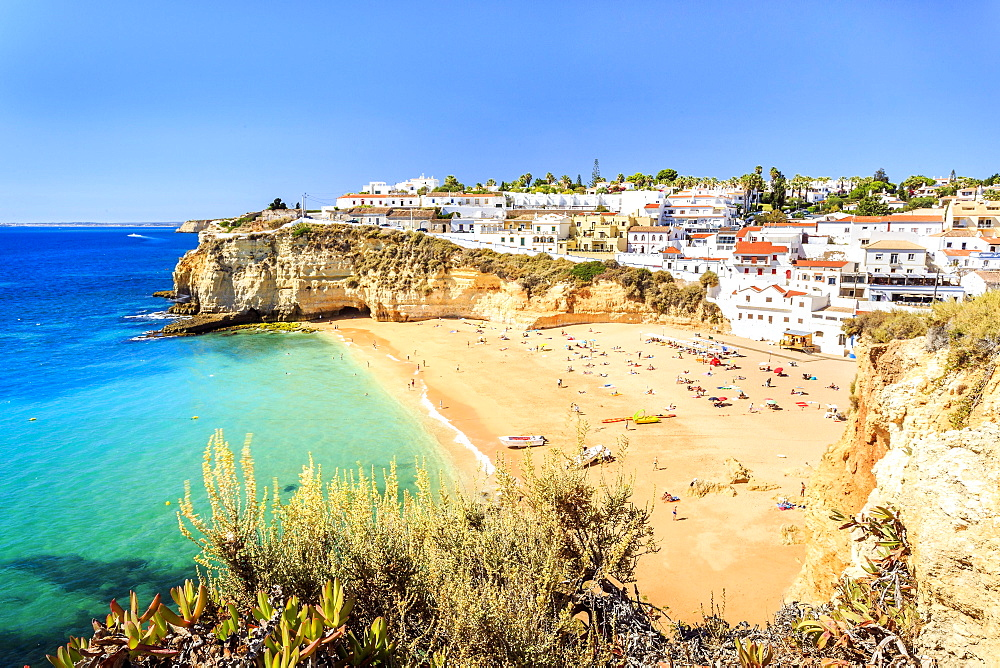 Beach, Carvoeiro, Algarve, Portugal, Europe