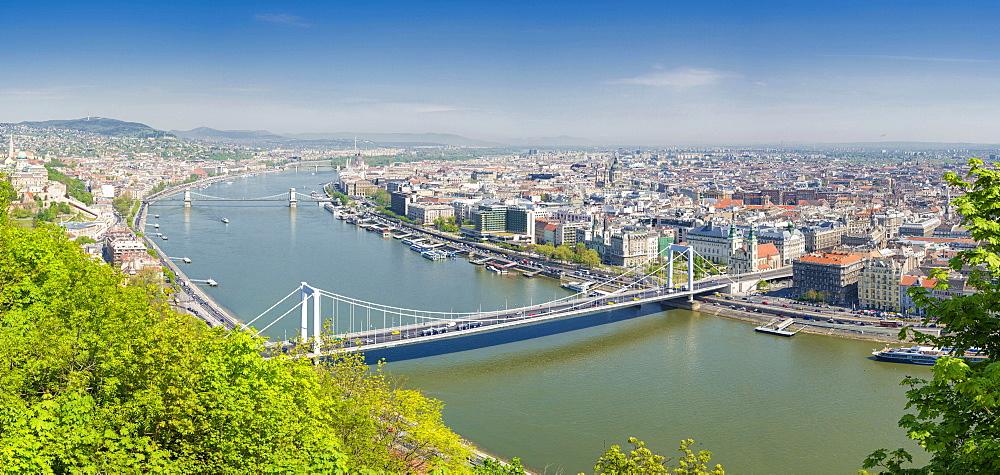 Cityscape, Budapest, Hungary, Europe