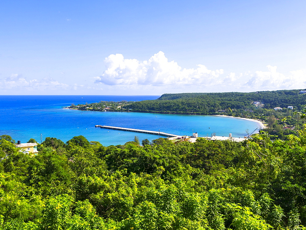 Coastline, Port Rhoades, Discovery Bay, Jamaica, Central America