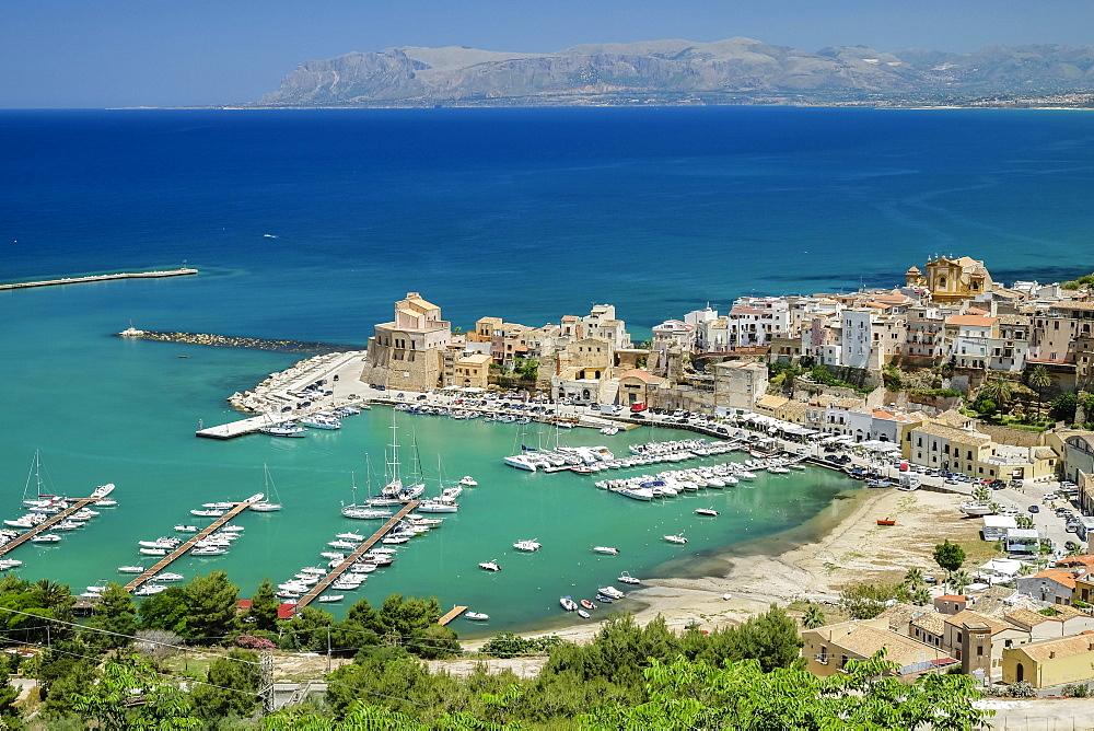 Castellammare del Golfo, Golfo di Castellammare, Province of Trapani, Sicily, Italy, Europe