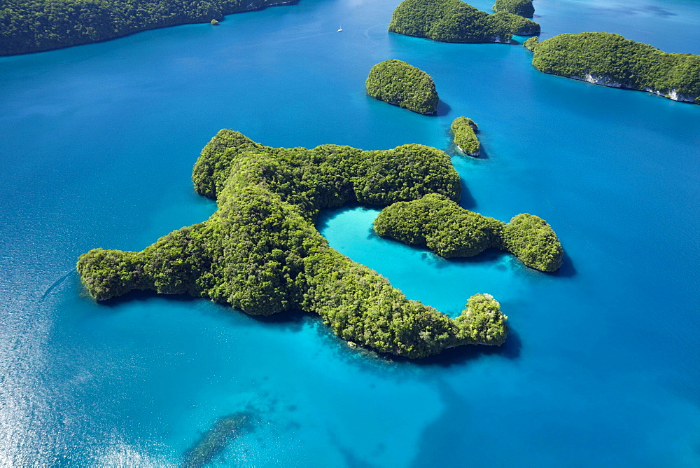Rock Islands of Palau, Micronesia, Pacific, Oceania