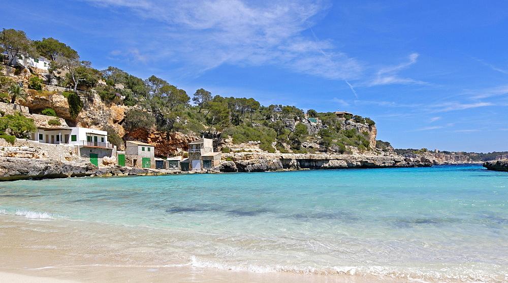 Cala Llombards, Santanyi, Mallorca, Balearic Islands, Spain, Europe
