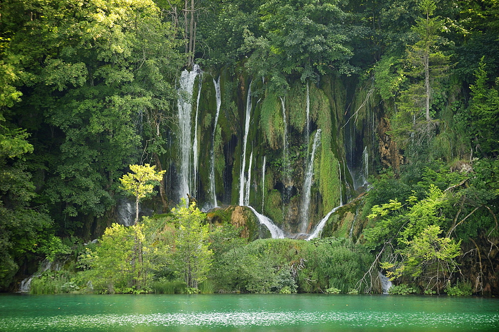 Waterfalls of the Plitvice Lakes, Plitvice, Croatia, Europe