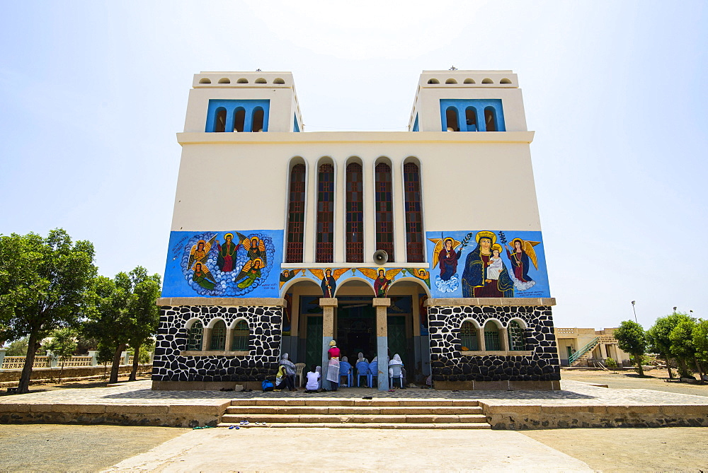 Orthodox church, Massawa, Eritrea, Africa