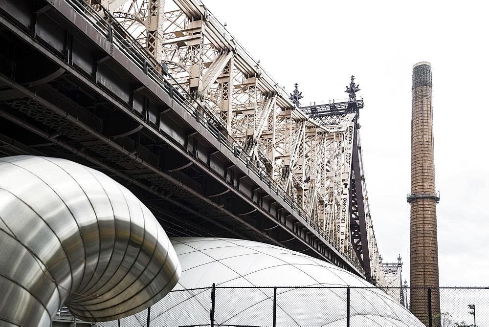 Queensboro Bridge, Manhattan, New York City, New York, United States, North America