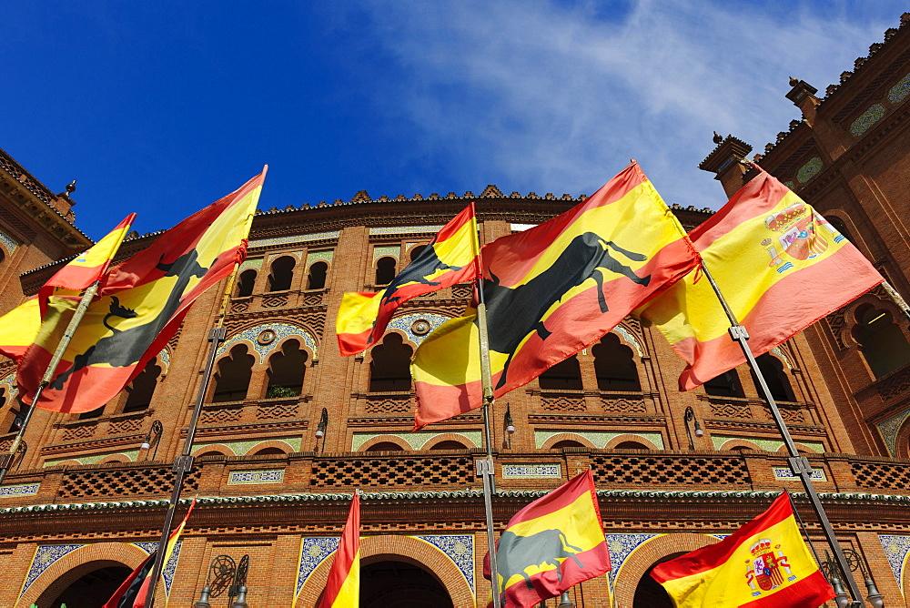Las Ventas bullring, Plaza de Toros Las Ventas, Madrid, Spain, Europe