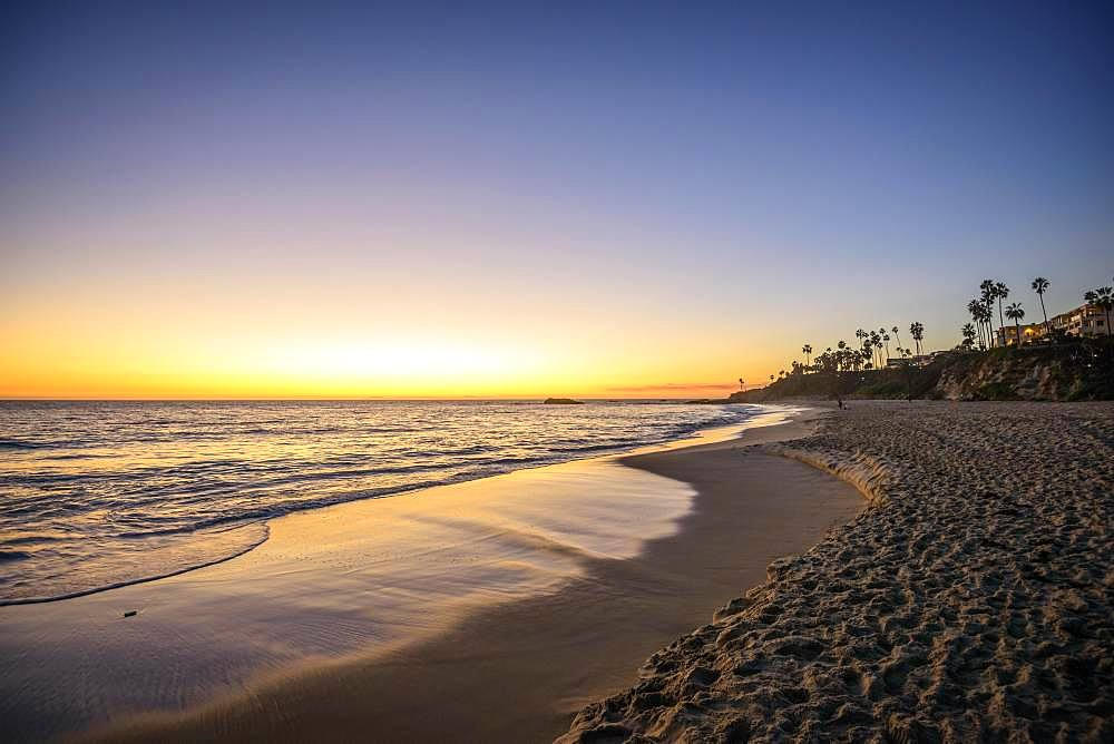 Sunset Beach, Laguna Beach, Orange County, California, USA, North America