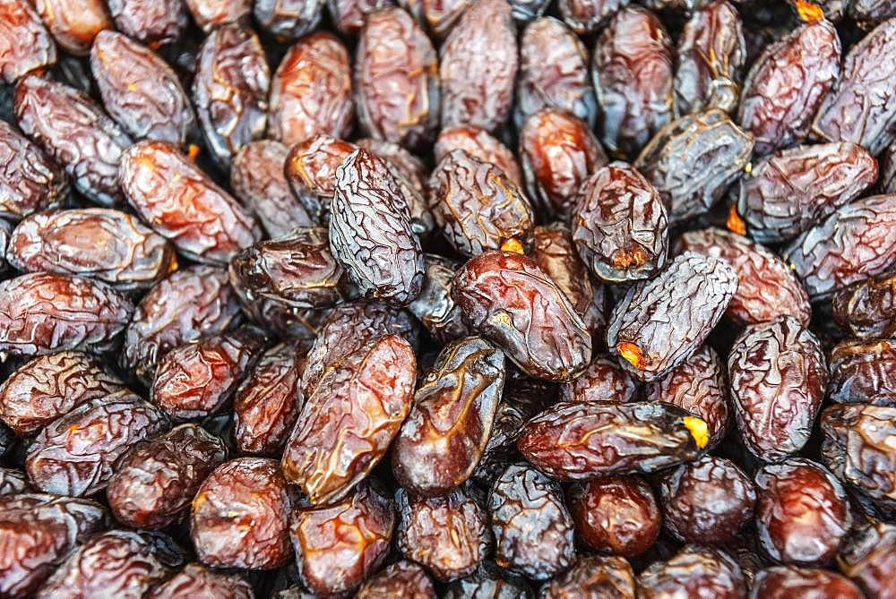 Dates, Market Hall, Funchal, Madeira, Portugal, Europe