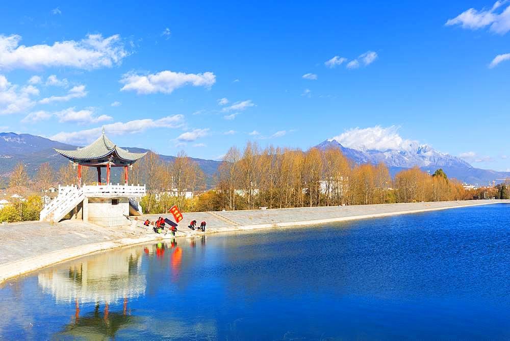Qingxi Water Reservoir, Lijiang, Yunnan Province, People's Republic of China