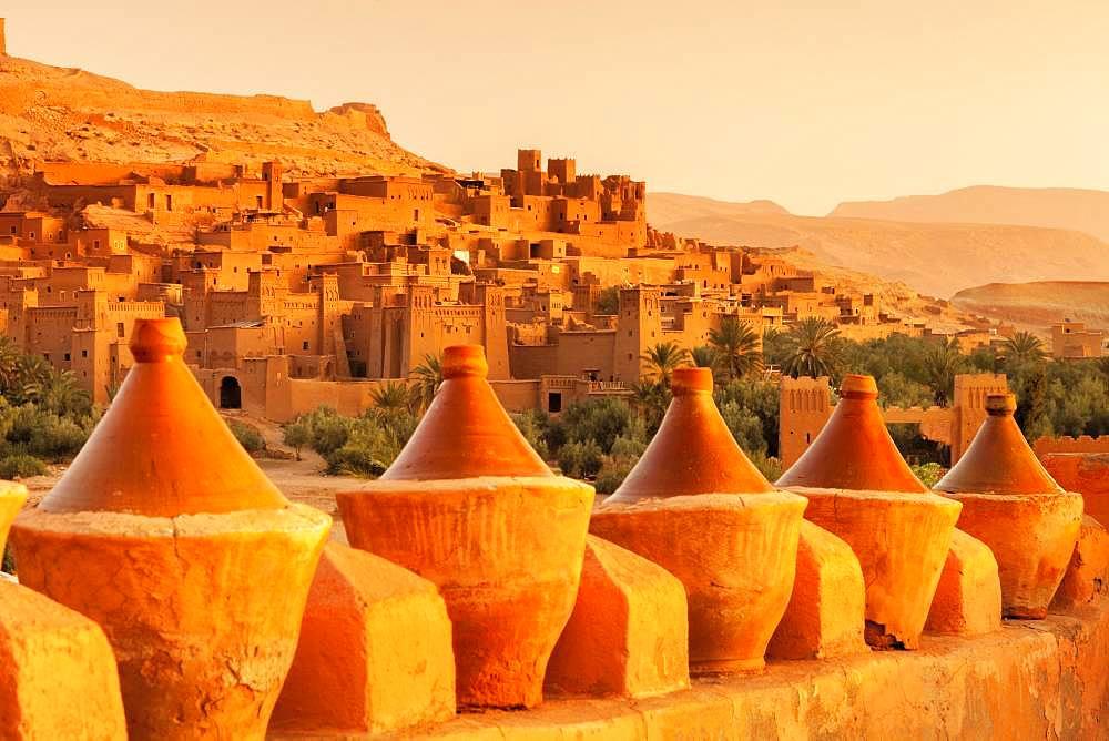 Ait-Benhaddou, Atlas, Ouarzazate, Morocco, Africa