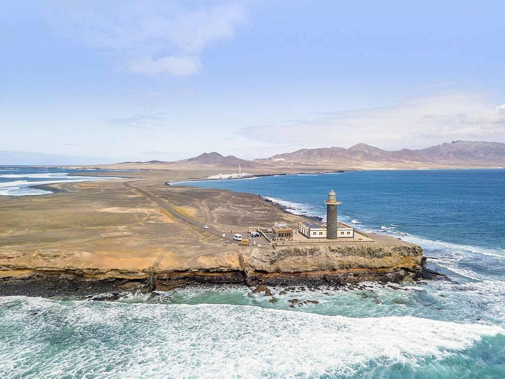 Lighthouse at Punta de Jandia, Fuerteventura, Canary Islands, Spain, Europe