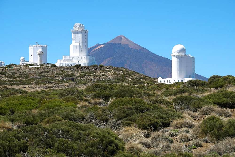 Observatorio del Teide, Teide Observatory, Observatory on Mount Izana, Tenerife, Canary Islands, Spain, Europe