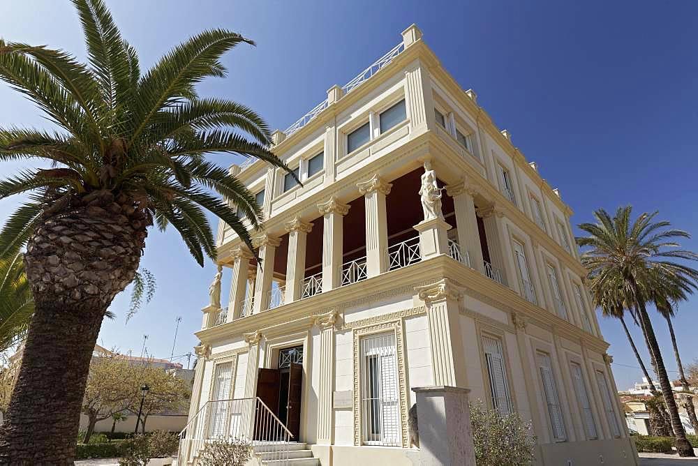 Casa Blasco Ibanez, Villa and Museum, Platja de la Malva-rosa, Malvarrosa, Valencia, Spain, Europe